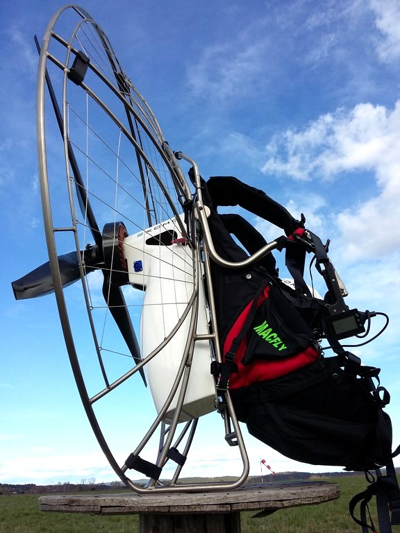 The EXOMO electric paramotors gallery
